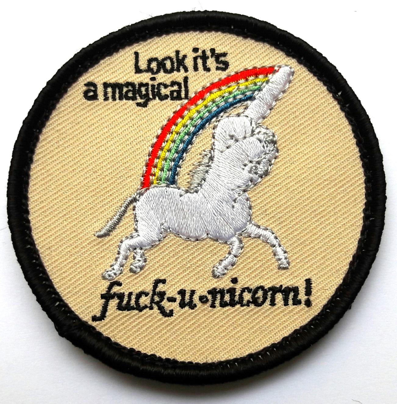 Moral Patch Unicorn 7,0 cm