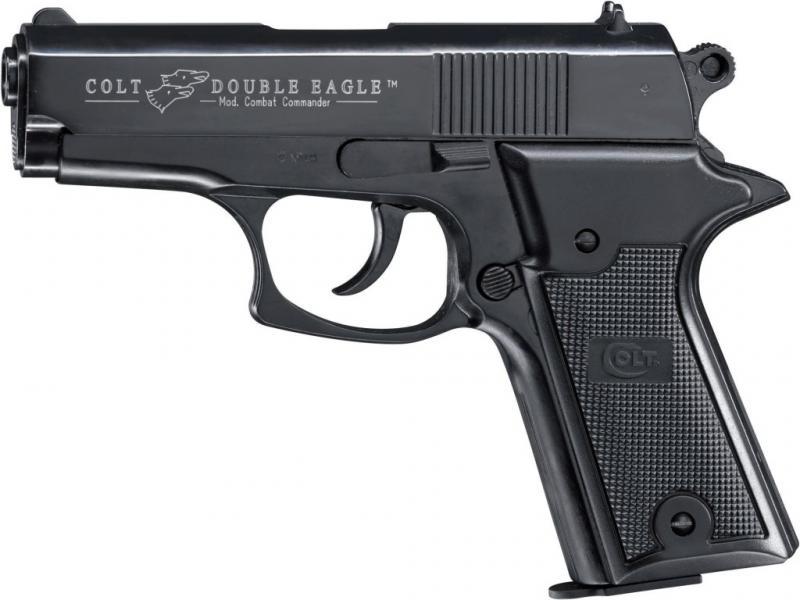 Colt Double Eagle Combat Commander Schreckschuss Pistole 9mm P.A.K. brüniert