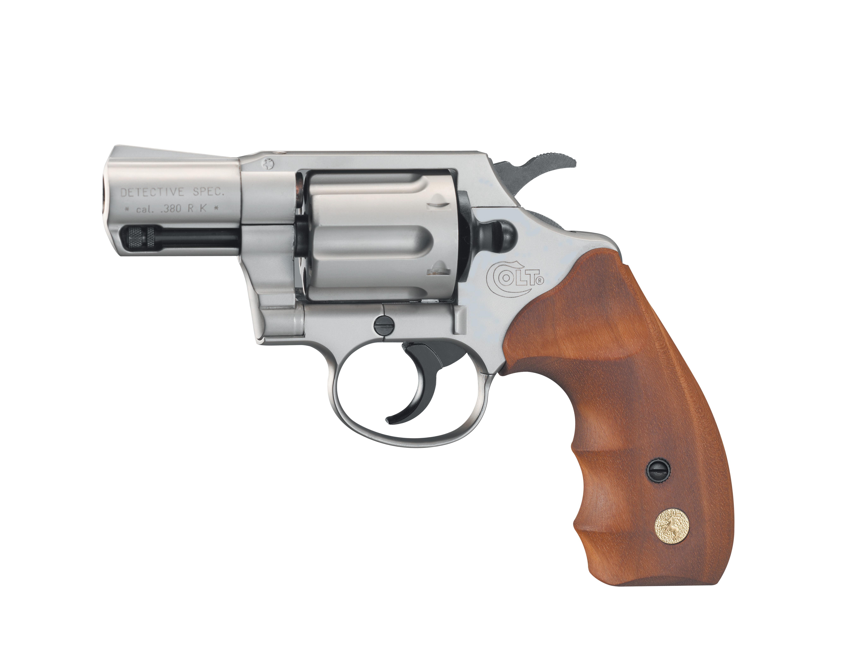 Colt Detective Special nickel Schreckschussrevolver