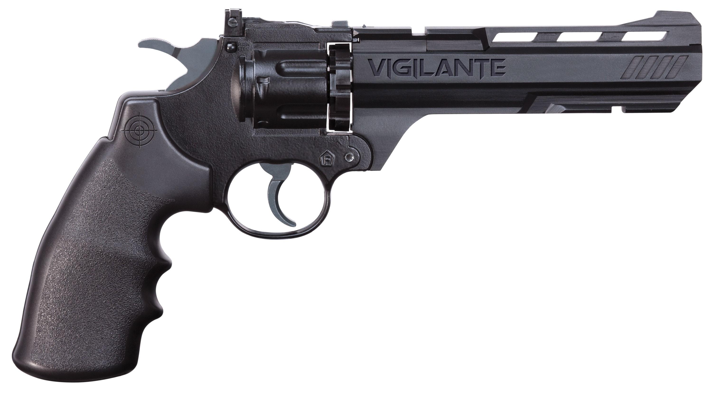 Crosman Vigilante CO2-Revolver, cal. .177 Diabolo / 4,5mm BB